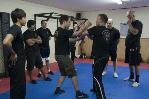 wing chun classes with sifu Chuck